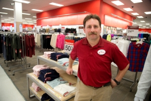 Target employee Dave Abbey was not surprised by the announcement that Target is closing its Canadian stores. He was photographed at Masonville Mall in London, Ontario on Thursday, January 15, 2015. DEREK RUTTAN/ The London Free Press /QMI AGENCY
