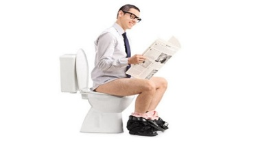 You've Been Sitting On The Toilet Wrong Your Whole Life. This Is How To Do It Right.