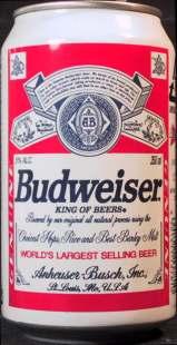 Budweiser-Fronte